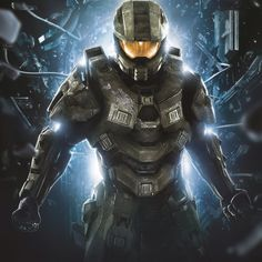 Master Chief. Halo 4. XBOX 360. Can't wait!