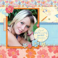 Scrapbook Layout.