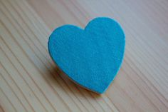 Wooden Heart Pendant   •  Free tutorial with pictures on how to make a wooden brooch in under 20 minutes Make it into a conversation heart with alphabet macaroni!