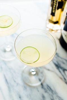 Refreshing cucumber, St. Germain and Hendrick's gin cocktail recipe.