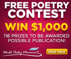 Amateur Poetry Contest (WIN $1,000) on http://www.icravefreebies.com