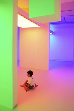 Color Becomes A Perception-Altering Substance In These Interactive Rooms   The Creators Project