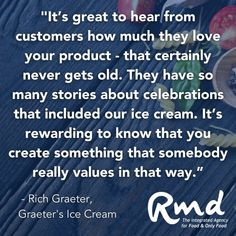 When a #career, #family and #food come together ... it's a magical thing. Listen in as our favorite #IceCream brand, Graeter's Ice Cream, talks about what it's like to run a #FamilyBusiness as well as executing daily with an All-Start team. 😎🍦💪 ...#rmdadvertising #foodmarketingagency #agencylife #clientlove #foodlove #creative #smart #sharp #problemsolving #passionate #branding #marketingtips #marketingstrategy #advertising #strategy What Is Like, That Way, Family Business, Getting Old, Icecream, Problem Solving, Beverages, Career, Advertising