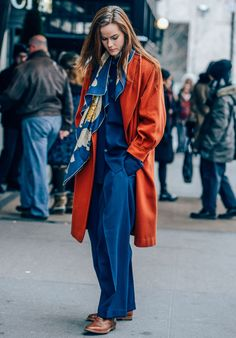 Max Jeans, love oversize and pop of color