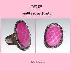Anillo Ajustable color Pink y bronce.4,95€ paquinatari@gmail.com