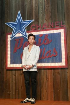 G-Dragon @ Chanel's 'Metiers d'Art Paris-Dallas Collection' Show 140604