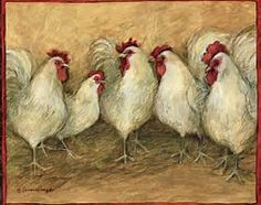 Image result for Blue Rooster Painting