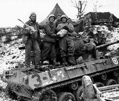 WW2-B-amp-W-Photo-Christmas-in-Italy-1944-US-Army-World-War-Two-WWII