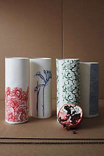 Anthropologie - Paper Sketch Vase, Stalk