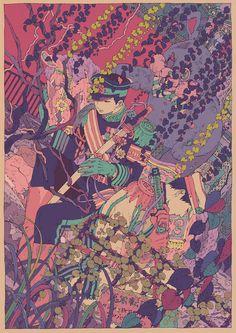 廃遊園地の亡霊 by コタケ #Pixiv Illustration