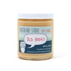 "Book-Scented Candle This company makes candles in all different ""book"" scents including Oxford Library, Dumbledore's Office and Sherlock's Study"