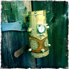 www.bardjester.com / Model SPB050PW /   - SteamPunk PocketWatch Bracer SteamPunk / Post Apocalyptic - Medieval / Fantasy - Other Dimensions... info@bardjester.com     Special Design from Finland, Scandinavia...