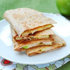 Ham and Cheese Quesadillas with a Kick