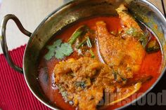 ... curry simmered in yogurt bengali fish curry catfish fillets curry with