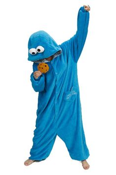 If you think I'm not going to rock this Cookie Monster Onesie from getonfleek.com you are sadly mistaken