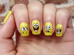 Story of My Life: SpongeBob SquarePants Nails.