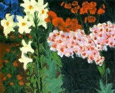 Emil Nolde (German painter and printmaker; 1867-1956) ~ Blumengarten