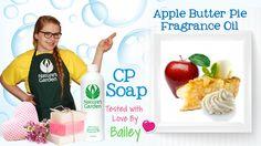 Soap Testing Apple Butter Pie Fragrance Oil- Natures Garden