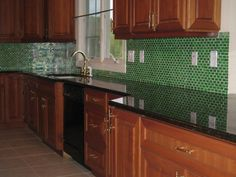 When Designing A Kitchen Backsplash, There Are Distinct Advantages For Using  Mosaic Glass Backsplash Tiles. Check Out This Article For More Info: