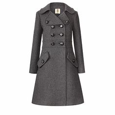 Heavy Wool Trench Coat