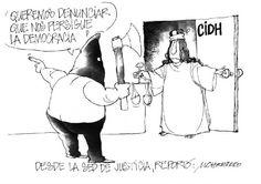 """Presentamos nuestra caricatura de hoy:  """"Desde la justicia"""""""