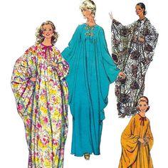 Vintage Simplicity 5680 caftan pattern