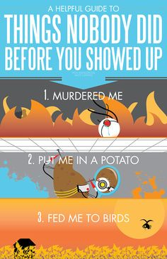 A Helpful Guide to Things Nobody Did to Me Before You Showed Up  (Portal 2)