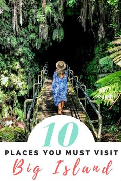 Planning a trip to the Big Island? Here's 10 place you must visit while you're there! | Wanderlustyle.com