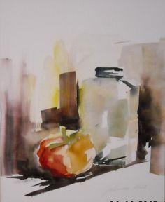 Watercolor on Yupo