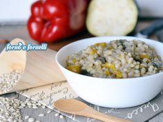 L'orzotto alle verdure è un primo piatto molto leggero e gustoso: potrete usare le verdure che preferite, verrà sempre e comunque buonissimo!