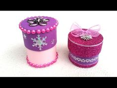 DIY JEWELRY gift box out of paper tube - life hack - YouTube