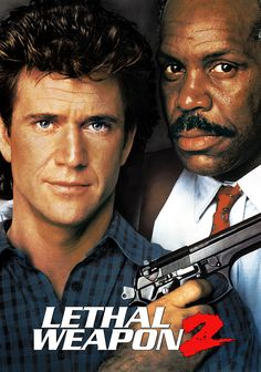 Mel Gibson - Lethal Weapon II (1989) Movie Poster