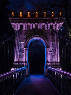 Enter Night, Bridge in Craiova, Romania. Our tips for things to do in Romania: http://www.europealacarte.co.uk/blog/2013/04/08/what-to-do-romania/