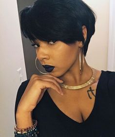 """32k Likes, 95 Comments - The Cut Life (@thecutlife) on Instagram: """"Never. Not. Slaying. @xoxojenise styled by @lynettethehairslayer  #thecutlife #bangs #selfie…"""""""