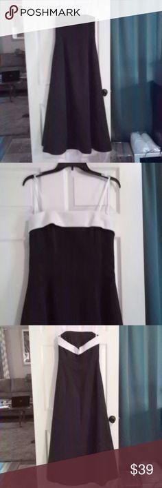 Floor length formal gown Strapless or spaghetti strap, zipper back, double layer skirt urban girl nites Dresses Wedding