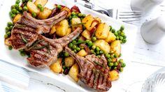 I Quit Sugar - Recipes - Page 11 of 24 Baked Lamb Recipes, Lamb Chop Recipes, Meat Recipes, Real Food Recipes, Cooking Recipes, Healthy Recipes, Broiled Lamb Chops Recipe, Chefs, Marinated Lamb
