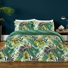 Nature Print Pillow Case Duvet Set Bedding Sets & Duvet Covers for sale Super King Duvet Covers, King Size Duvet Covers, Double Duvet Covers, Green Duvet Covers, Black Duvet Cover, Bed Covers, Bedding And Curtain Sets, Duvet Sets, Where To Buy Bedding