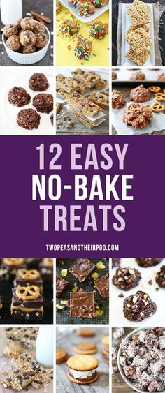 Easy No-Bake Desserts that are perfect for summer