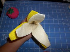 (This is a whole lot cuter than I expected!) Use this free felt banana tutorial and pattern to make your own felt banana's!