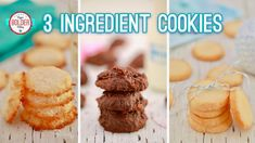 Three NEW 3-Ingredient Cookies | Gemma's Bigger Bolder Baking