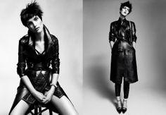 """Cisne Negro"" Vogue Spain, Nov. 2012 Model: Mirte Maas"