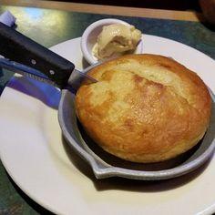 BBQ Chain Restaurant Recipes: Cornbread with Honey Pecan Butter