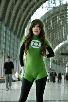 Green Lantern by Dangerousladies.