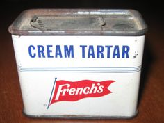 Vintage French's Tin Cream Tartar RT French Company by CallJannie
