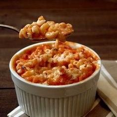 Tomato Soup Macaroni and Cheese. Comfort food city.