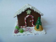 18 doll food/ Gingerbread house/ American girl by MiniatureMenu, $40.00