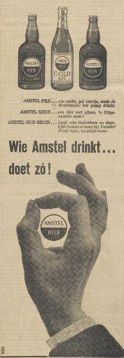 1960 Amstelbier