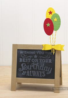 Birthday Chalkboard Greetings, Happy Birthday Background, Blueprints 17 Die-namics - Kimberly Crawford #mftstamps