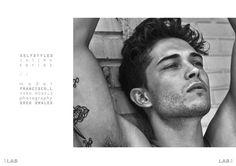 Sergio Carvajal, Vladimir Ivanov + Francisco Lachowski by Greg Swales for Lab