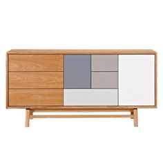Grane Sideboard - Natural | Modern Sideboard by Nye Koncept at Contemporary Modern Furniture  Warehouse - 1